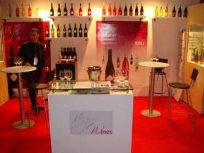Salon des vins en Inde
