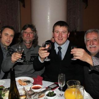Salon des vins en Russie